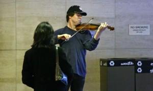 Joshua Bell in DC Metro