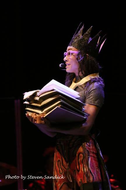 Esperanza Spalding at Tilles Center 2016-04, Photo by Steven Sandicks