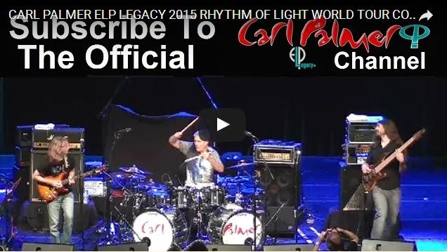 Carl Palmer ELP Legacy Tour Boulton Center http://bit.ly/1TbbChS
