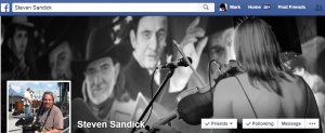 Steven Sandick Facebook Page Background (Jan 2015)