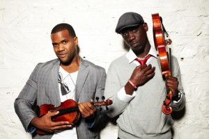 Black Violin in performance in Long Island 2015 - reviewed by DarkViolin