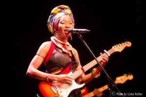 Fatoumata Diawara | Landmark April 2015 by Linda Nutter, review by DarkViolin