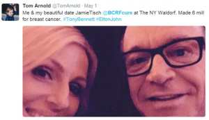 Tom Arnold Tweet May 1 2015