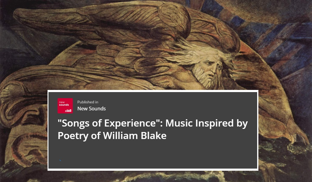 New Sounds Collection of William Blake-inspired Music