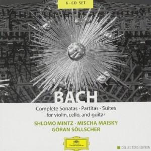 Cover: Bach Complete Sonatas Partitas Suites for Violin, Cello Guitar (Deutche Grammophon, 2004)