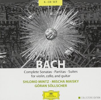Cover: Bach Complete Sonatas Partitas Suites for Violin, Cello Guitar (Deutche Grammophon, 2004)