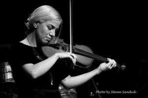 Nicole Scorsone, violin Photo by Steven Sandick
