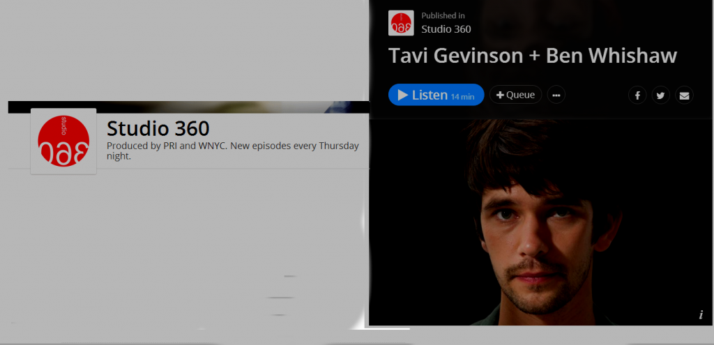 Screenshot tavi-gevinson-ben-whishaw-on-studio360-v2 http://bit.ly/1TtzkVp