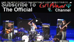 Carl Palmer ELP Legacy Tour Boulton Center http://bit.ly/1TbbChS