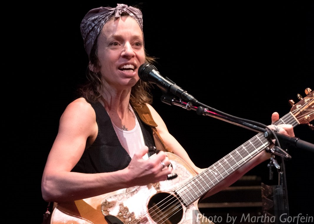 Ani DiFranco photo by Martha Gorfein 2016 @Landmarkonmain