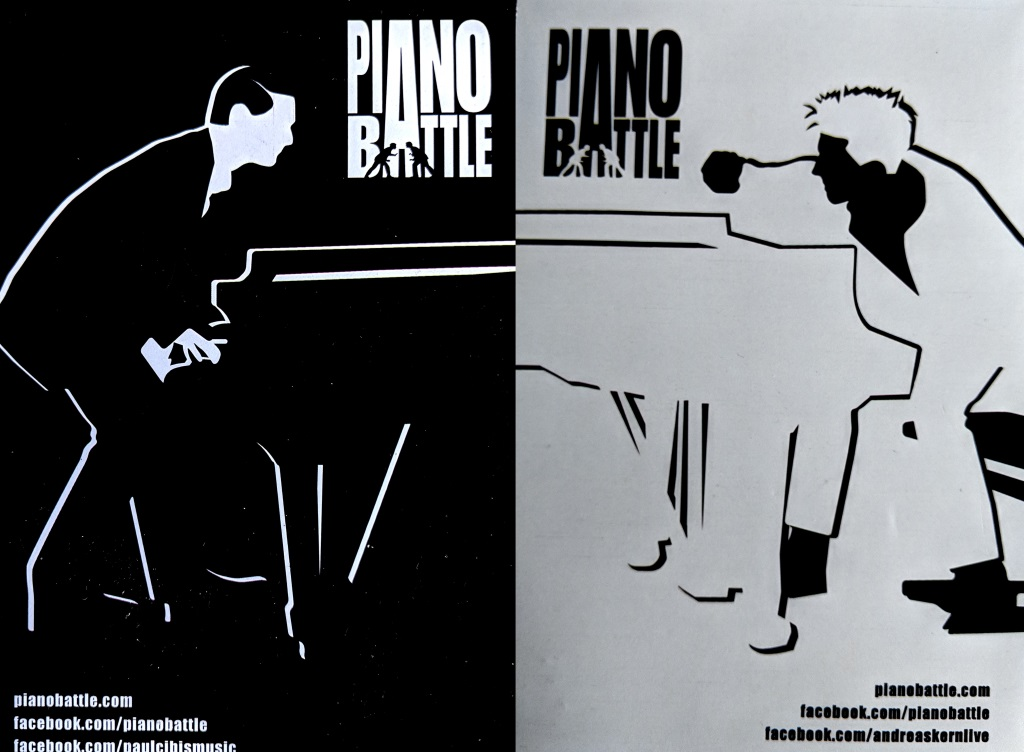 Piano Battle logos